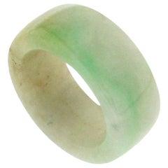 Handcraft Jade Band Ring