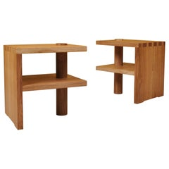 Handcrafted Architectural Oak Stools