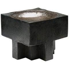 Handcrafted Arno Declercq Bronze Cross Pots