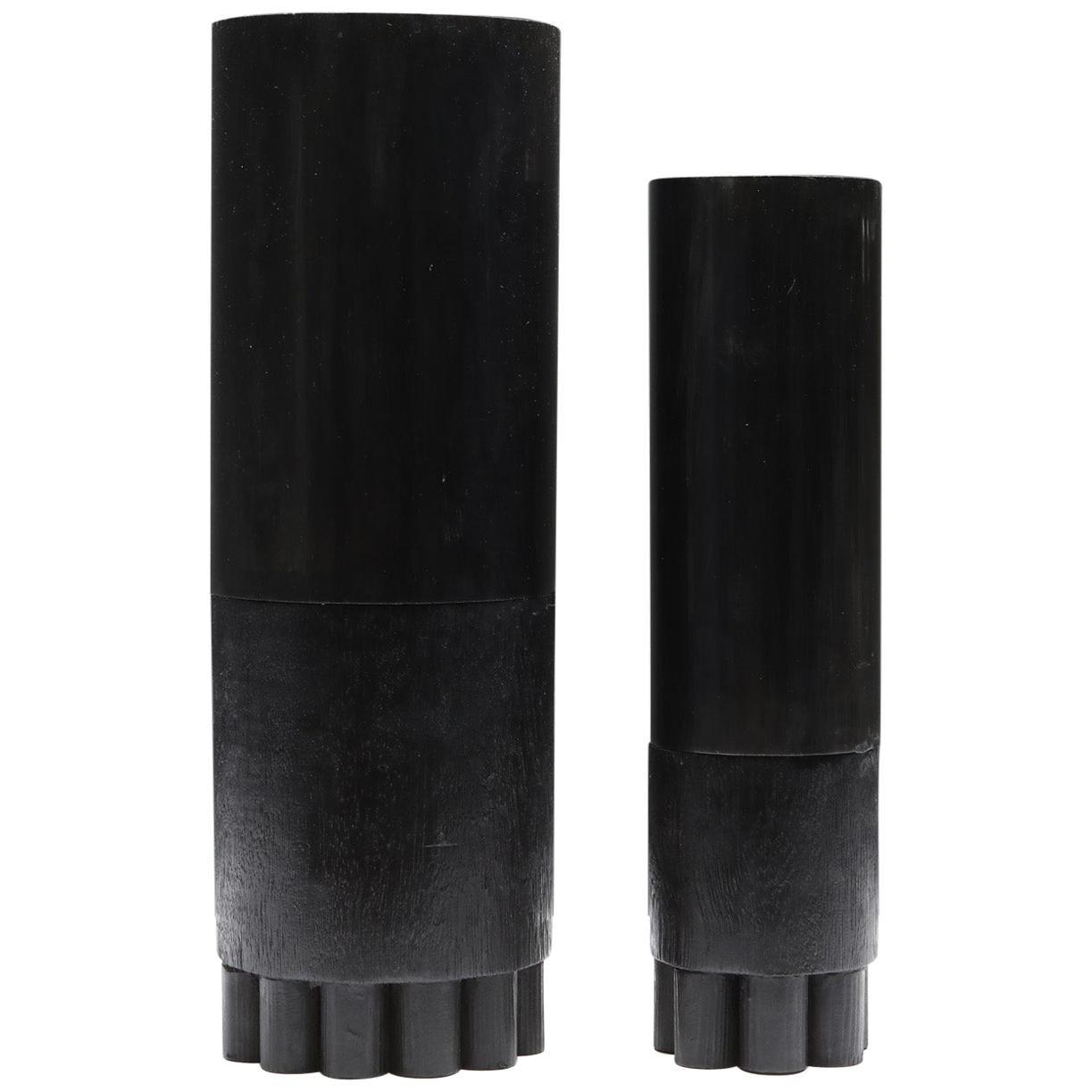 Brutalist Arno Declercq Centipede Vases