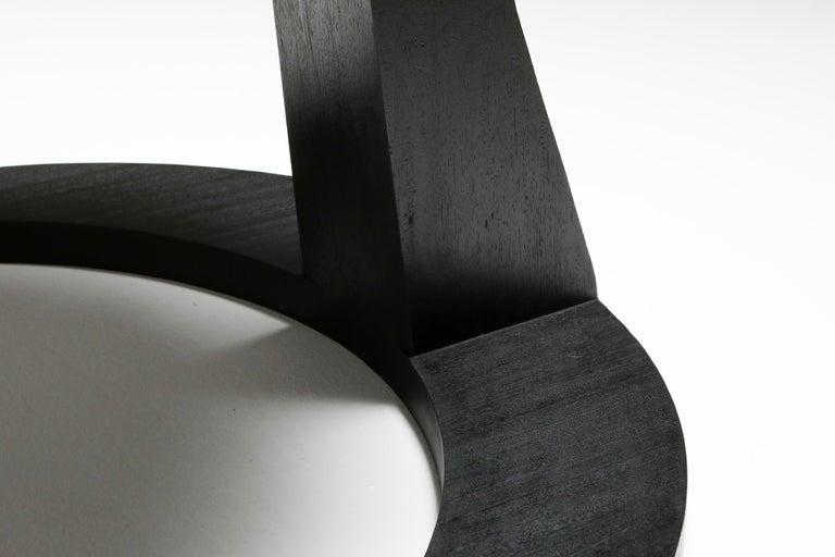 Black Collectible design Arno Declercq Hevioso Stool For Sale 2