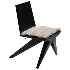 Black Arno Declercq , Dining Chair