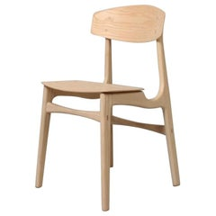 Handcrafted Ash Modernist Dining Chairs