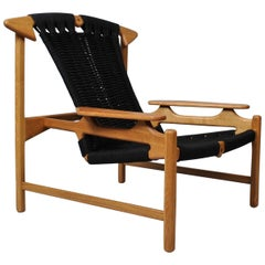 Handcrafted Danish Oak Lounge Chairs by Martin Godsk