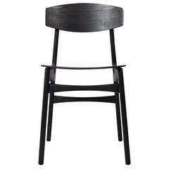 Handcrafted Ebonies Ash Modernist Dining Chairs