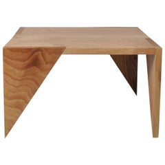 Handcrafted English Walnut Modernist Table