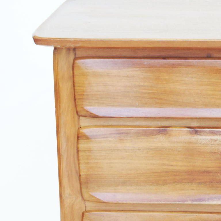 Handcrafted Franz Xaver Sproll Wooden Chest of Drawers, Switzerland, 1940s For Sale 1