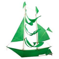 Handcrafted Haptic Lab Flying Ship Kites-Large