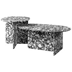 Handcrafted Italian Terrazzo Coffee Table