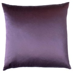Handcrafted Lustrous Fabric Subtle Sheen Square Box Pillow Hypoallergenic