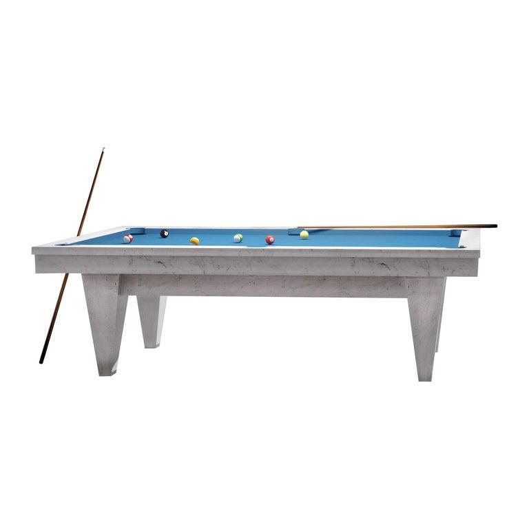 Handcrafted Marble Billiards Table by Blatt Billiards