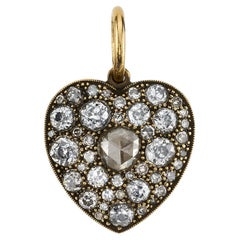 Handcrafted Medium Cobblestone Heart by Single Stone