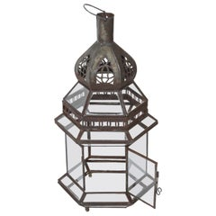 Handcrafted Moroccan Glass Lantern