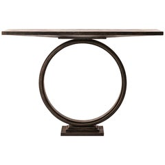 Handcrafted Ra Console Table