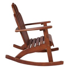 Handcrafted Rocking Chair 'LARGE', 20th Century