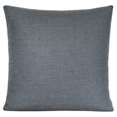 Handcrafted Square Slate Green Pillow Cushion