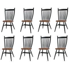 Handcrafted Studio Bent Chair by Fabian Fischer, Germany, 2019