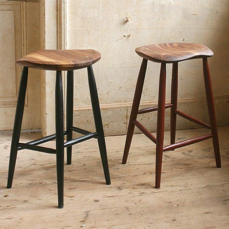 Super Handcrafted Studio Four Legged Stool By Fabian Fischer Germany 2019 Ibusinesslaw Wood Chair Design Ideas Ibusinesslaworg
