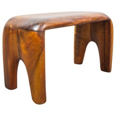 Handcrafted Studio Stool or Bench by Mexican Mid-Century Modernist Don Shoemaker