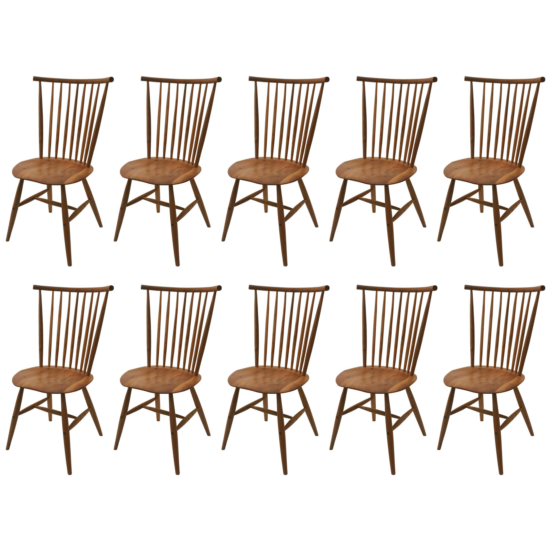 Handcrafted Studio Windsor Chair by Fabian Fischer, Germany 2019