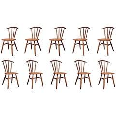 Handcrafted Studio Windsor Chair by Fabian Fischer, Germany, 2019