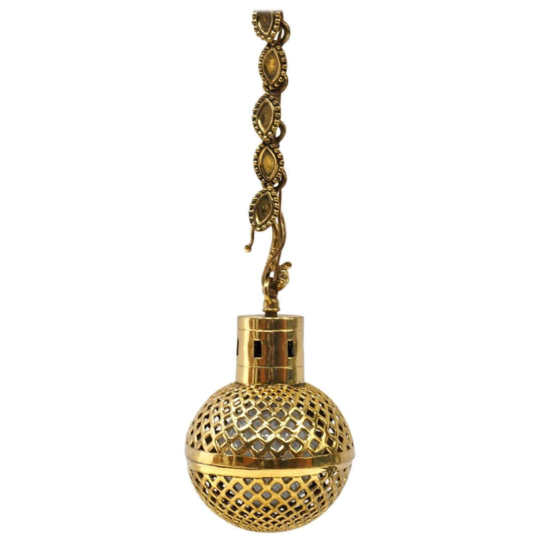 Handing Pendant Lamp in Solid Brass