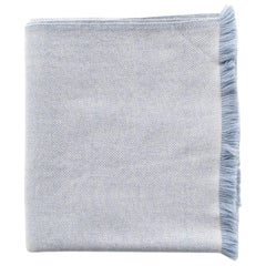Handloom BORO Classic Throw / Blanket in Plush Merino