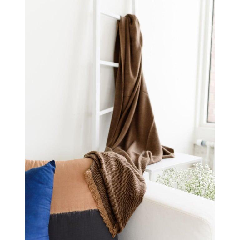 Hand-Woven HAY Handloom  Throw / Blanket For Sale