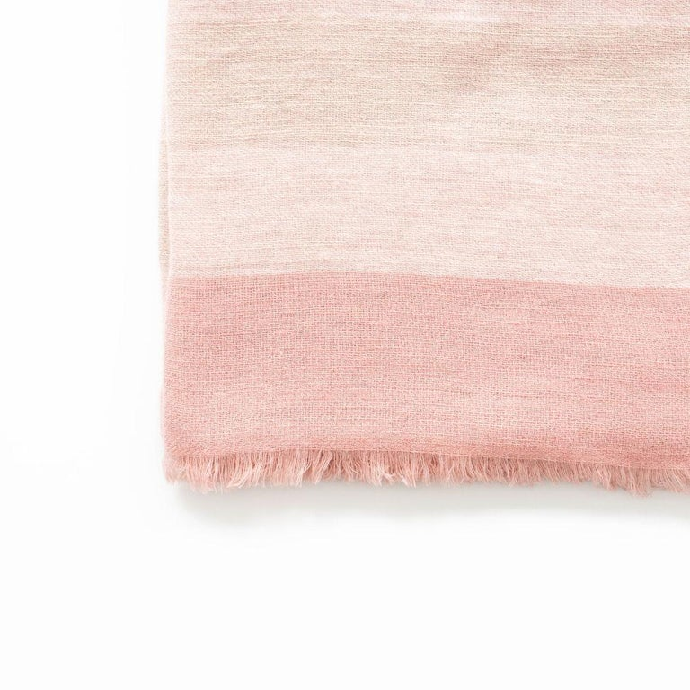 Nepalese ROSA Plush Throw / Blanket / Bedspread  For Sale