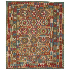 Handmade Afghan Kilim Rugs, Traditional Rugs, Colourful Carpet from Afghanistan