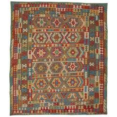 Handmade Carpet Afghan Kilim Rugs, Oriental Rugs, Traditional Kelim