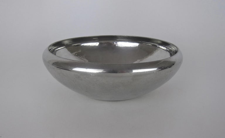 American Porter Blanchard Arts and Crafts Hand Hammered Pewter Bowl