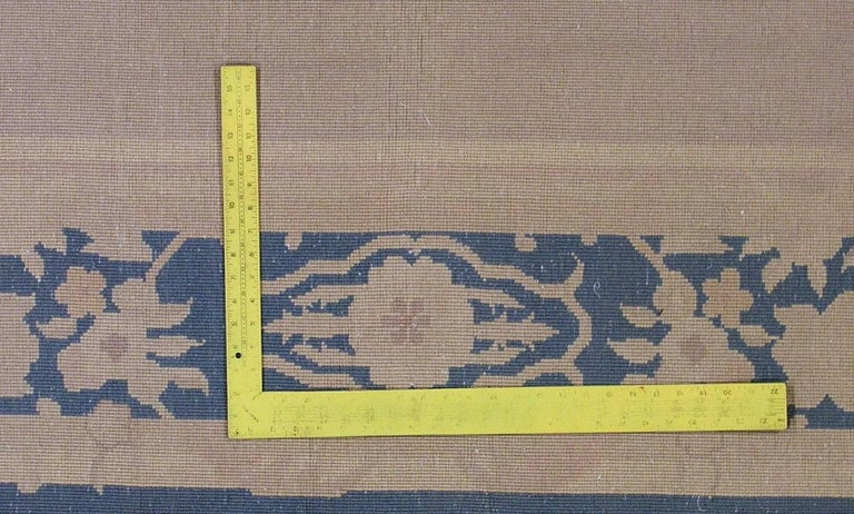 Handmade Antique Chinese Art Deco Rug, 1930s, 1L10 For Sale 4