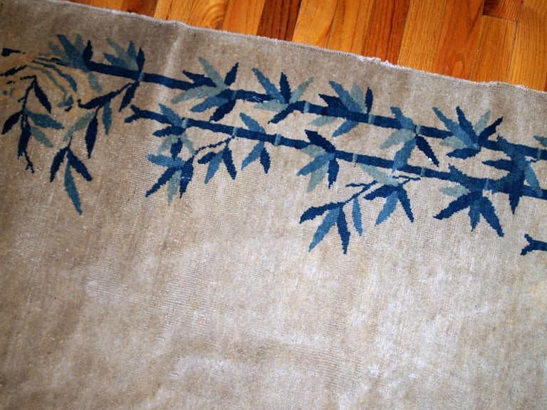 Early 20th Century Handmade Antique Chinese Peking Rug, 1900s, 1B866 For Sale