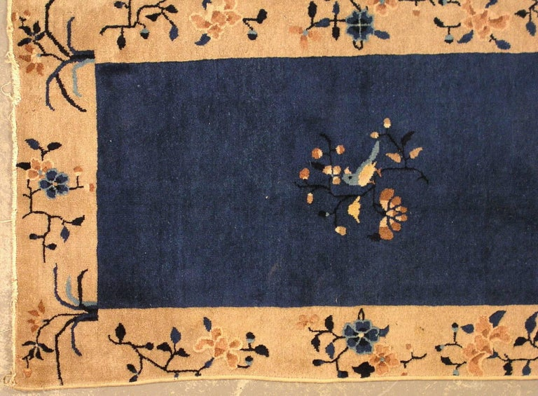 20th Century Handmade Antique Chinese Peking Rug, 1900s, 1L19 For Sale