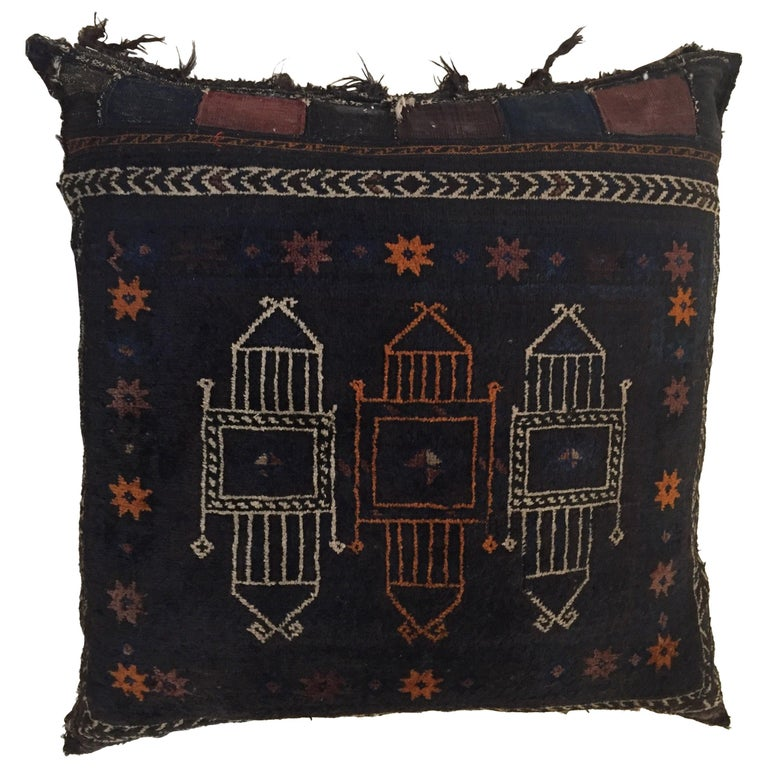 Handmade Antique Collectible Afghan Baluch Saddle Bag
