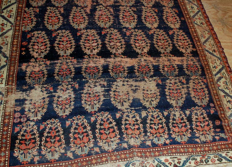 Asian Handmade Antique Collectible Northwest Style Runner, 1830s, 1B549 For Sale