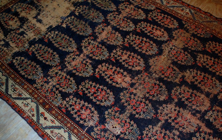 Handmade Antique Collectible Northwest Style Runner, 1830s, 1B549 For Sale 1