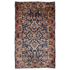 Handmade Antique Kerman Style Rug, 1920s, 1B671