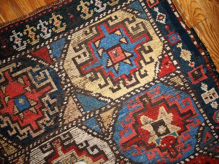 Handmade Antique Kurdish Style Rug 1870s For Sale At 1stdibs