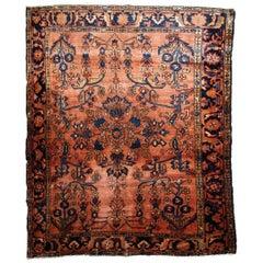 Handmade Antique Lilihan Style Rug, 1910s, 1B797