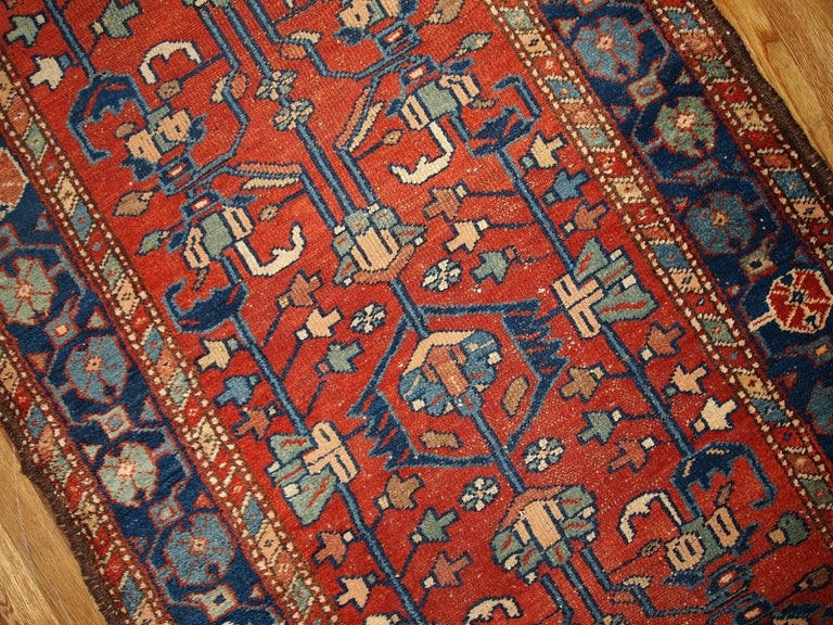 Asian Handmade Antique Lilihan Style Runner, 1920s, 1B429 For Sale