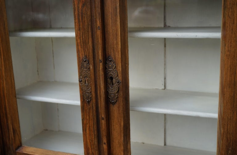 Handmade Antique Miniature Country House Sideboard / Kitchen Cabinet Late 1800s For Sale 12