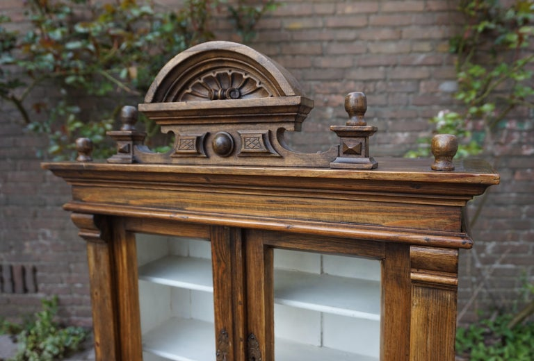 Handmade Antique Miniature Country House Sideboard / Kitchen Cabinet Late 1800s In Good Condition For Sale In Lisse, NL