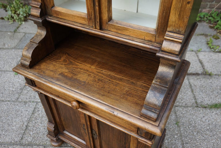 Handmade Antique Miniature Country House Sideboard / Kitchen Cabinet Late 1800s For Sale 1