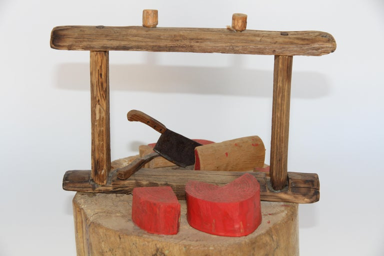 20th Century Handmade Butcher Shop Display For Sale