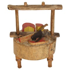 Handmade Butcher Shop Display