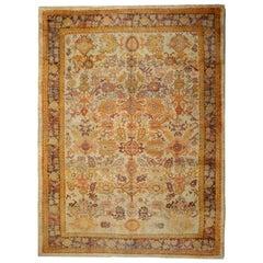 Handmade Carpet Antique Turkish Rugs Anatolian Oriental Rug for Home Decor