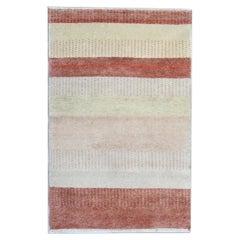 Handmade Carpet Modern Indian Flat-Woven Rug