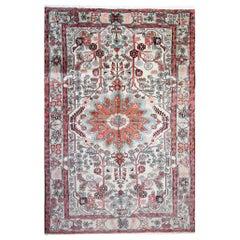 Handmade Carpet Oriental Wool Area Rug, Traditional Afghan Rug